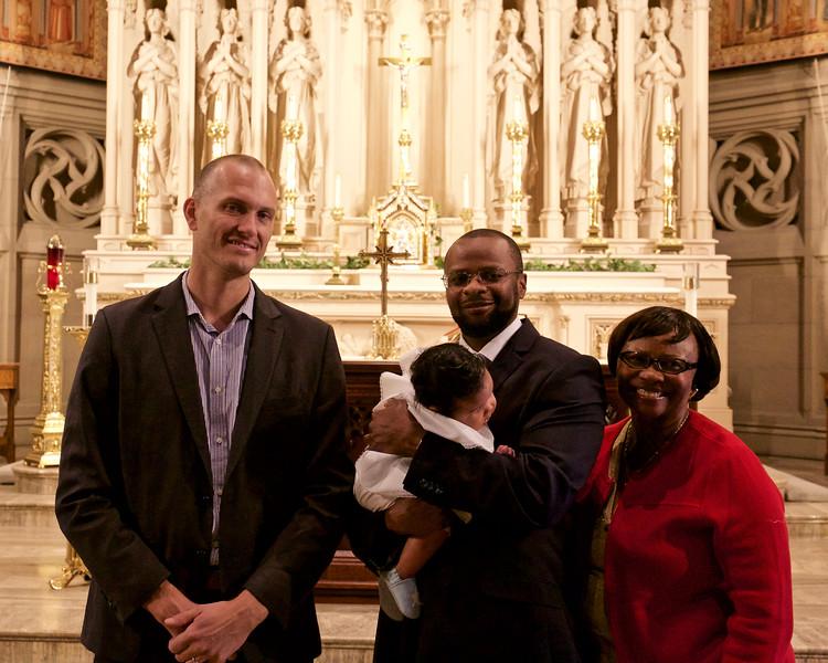 Jason, Siani (with Masha) and Mary Kayani
