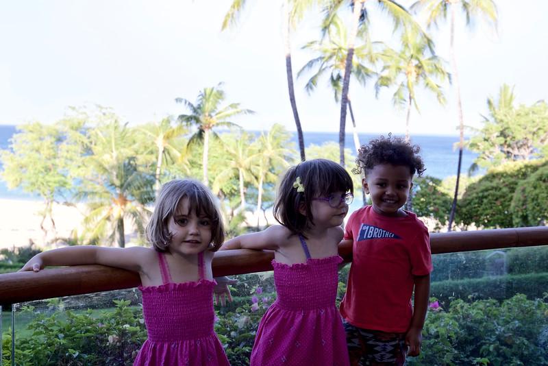 Makeda, Anahita and Baye.