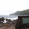 Laupahoehoe harbor has been restored since the devastating tsunami of April 1, 1946, which swept away 21 schoolchildren and three adults. School was about to start when the bay emptied of water and the children rushed to see the fish and shells left behind--they could not escape the oncoming tidal wave.