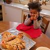 Baye considers Christmas Breakfast, without pancakes.