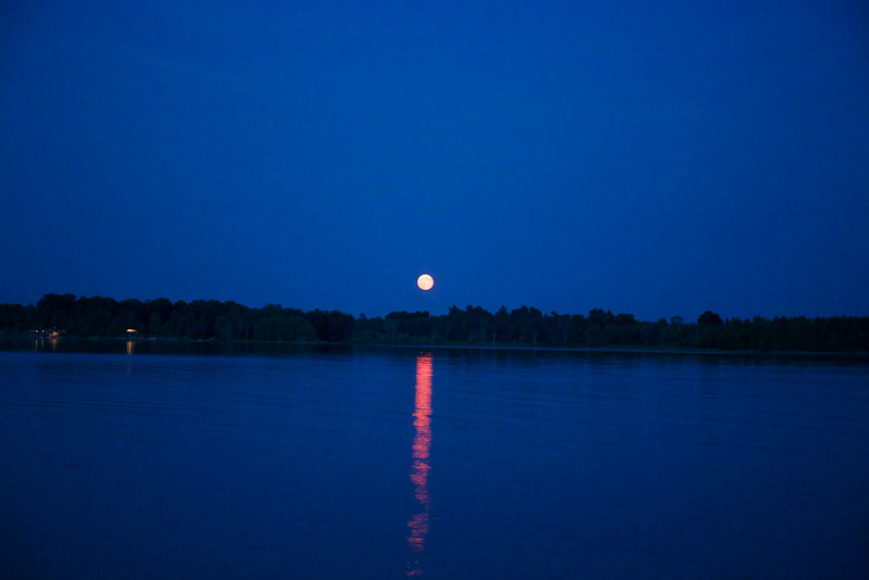 Some call this a Supermoon.  It surely was a Superweek together.