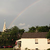 Rainbow over Middlebury.