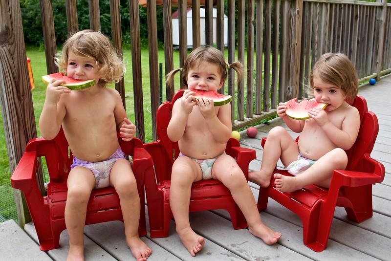 Watermelon is popular.
