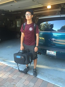 2016.8.17 Sophomore Year. First Day @ AHS