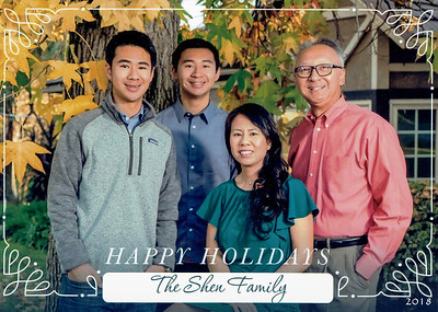 2018 Holiday Card