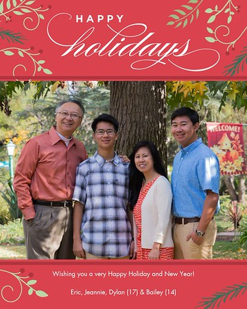 2015 Holiday Card