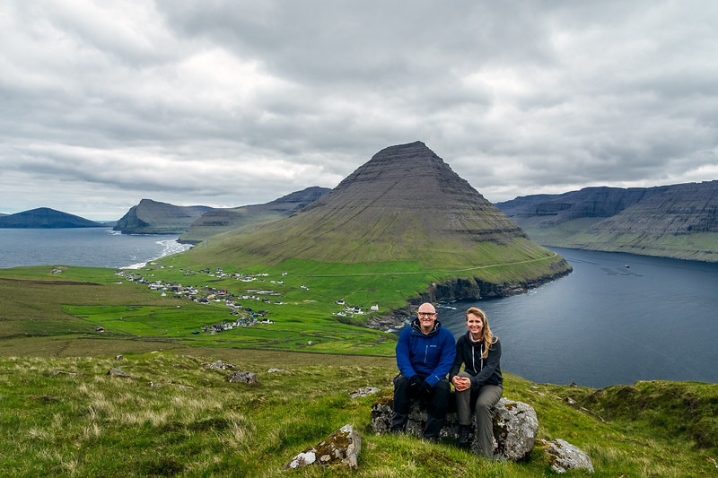 Cadey and I in the Faroe Islands