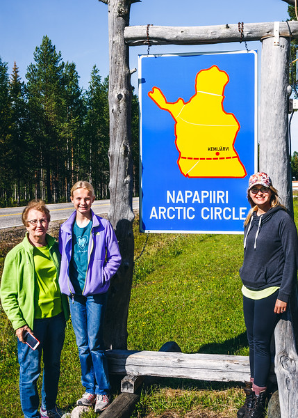 At the Arctic Circle
