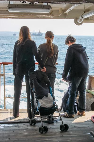 Ferry on the Bosporous