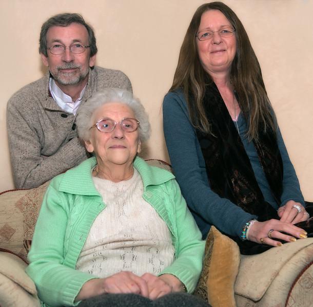 Mum, Ingrid & Mick