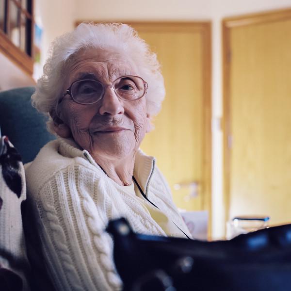 Mum's 93rd Birthday