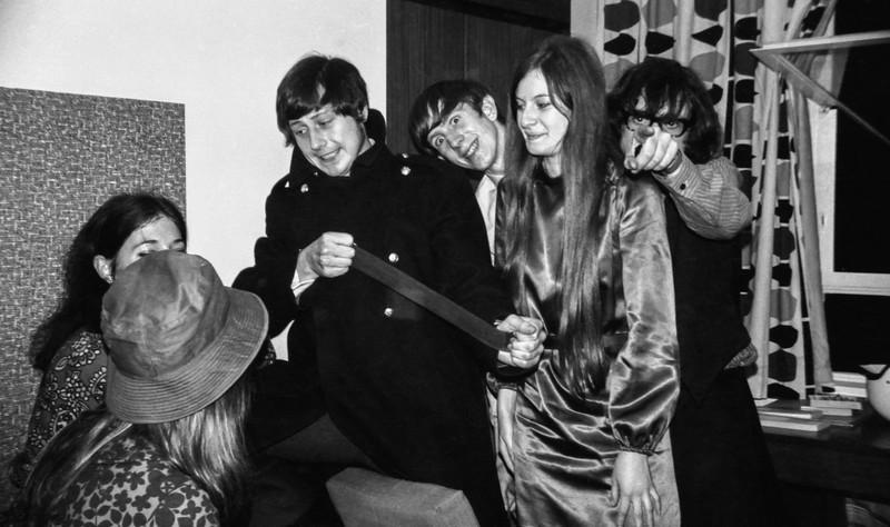 Vaughan House, Bodington Hall, October 1969