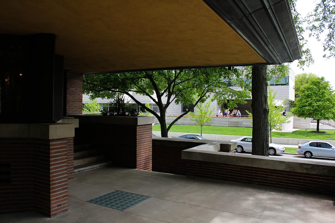The Business School next door.