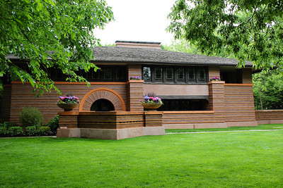 The Arthur Heurtley House by Frank Lloyd Wright