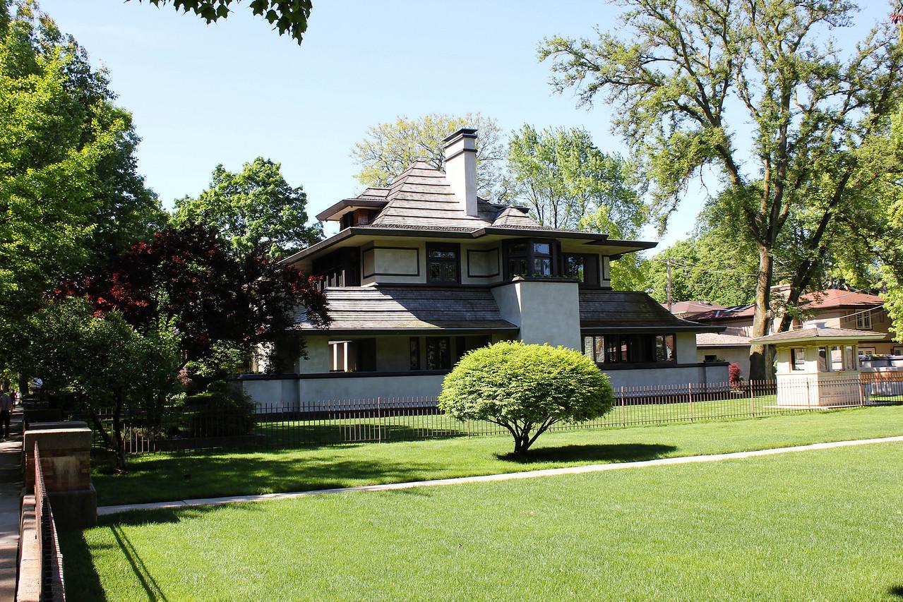Edward R Hills House by Frank Lloyd Wright