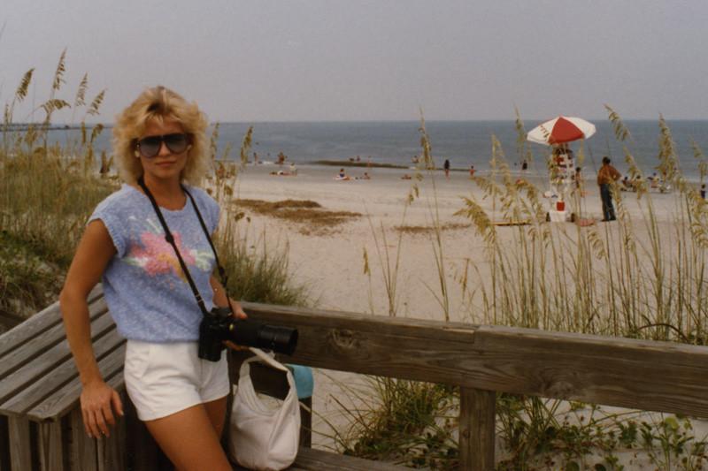 Martha Beeler at Jacksonville Beach