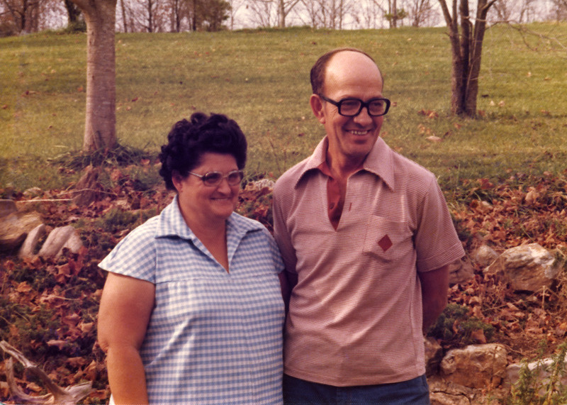 Mom and Dad Beeler