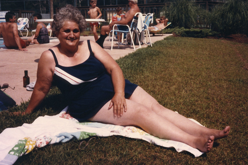 Mom Beeler on vacation to Myrtle Beach