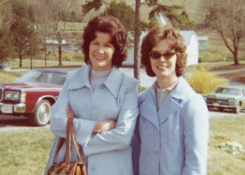Tommy Beeler and her daugther, Darlene