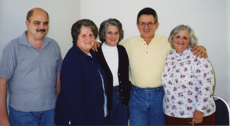 David, Lois, Pat, Frankie, Judy