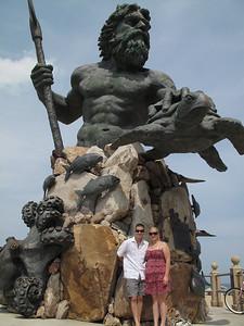 Kala & Michael with King Neptune