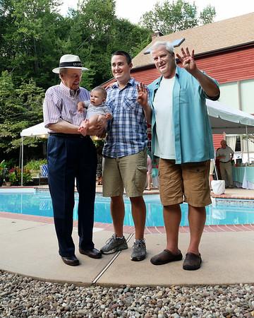 Four Generations! Jack Williams, Andy Williams, Zac Williams, Levi Williams