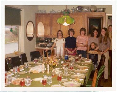 Amy, Terri, Nina, Agnes, Gina, Darcy, Kirsten