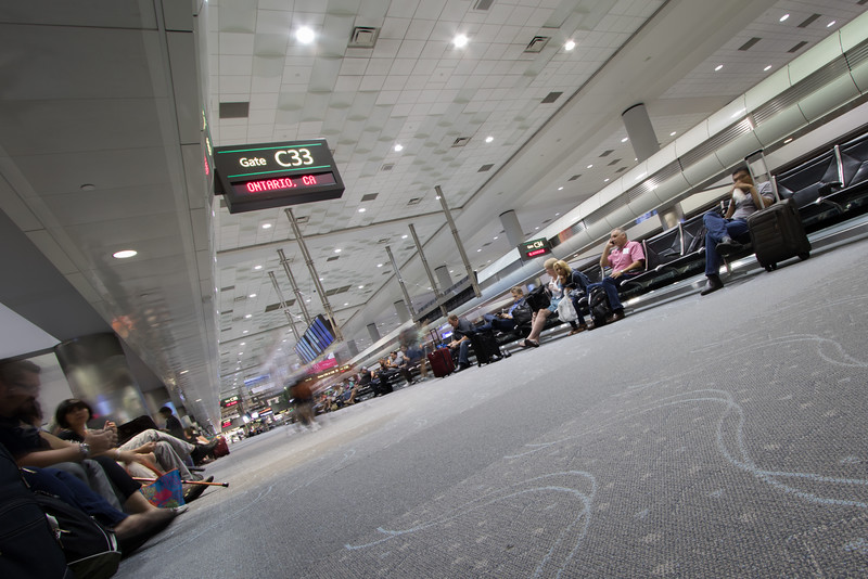 Ghosts at the airport
