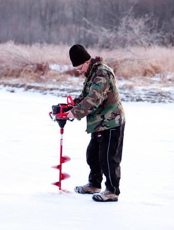 Ice Fishing Dec 18 2011