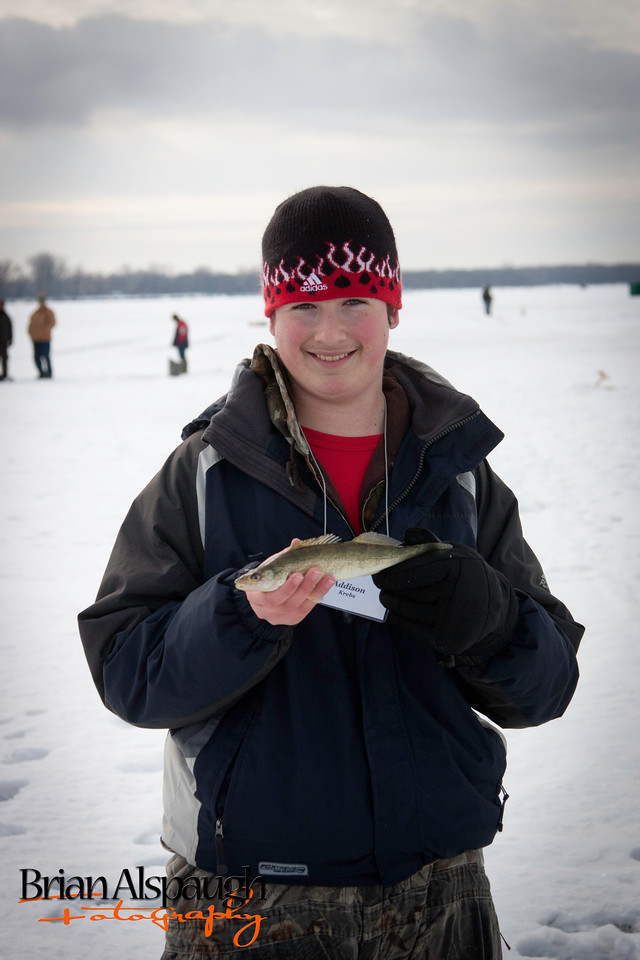 "Addison catches 10.5"" walleye"