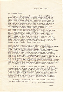 Bills Letter