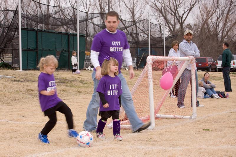 Itty Bittys soccer