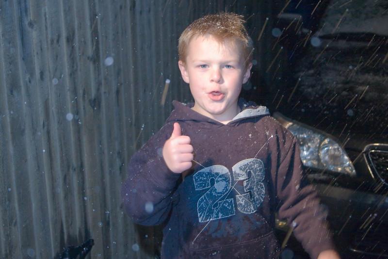 Snow in Frisco!