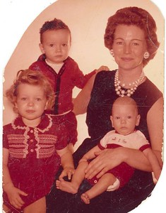 Lynn, Donald, Mom, and David