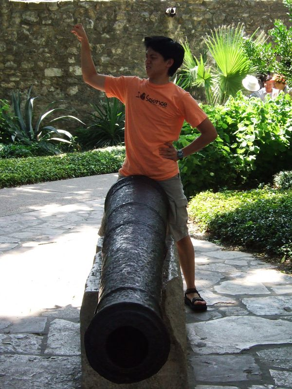 kendon and a bigger cannon