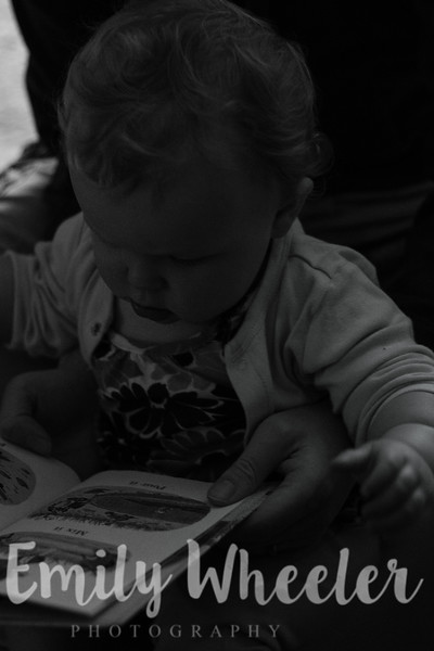 Day 163 | June 11th<br /> We were playing with Arwen and she came up to Andrew with the book and sat down on his lap. Of course, I had to get a picture of them reading together.
