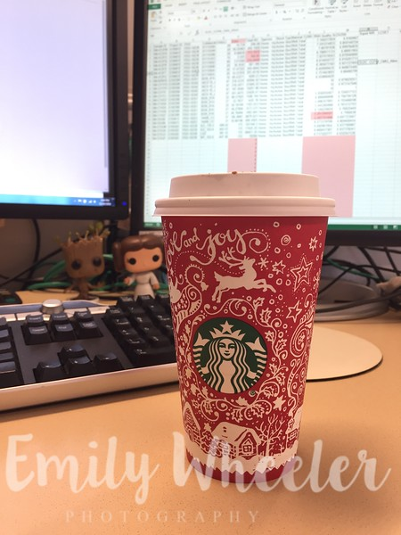 Day 315 | November 10th<br /> Starbucks red cup day!