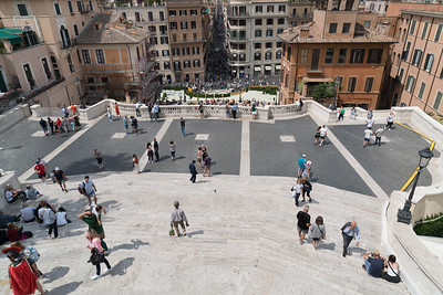 Top of the Spanish Steps