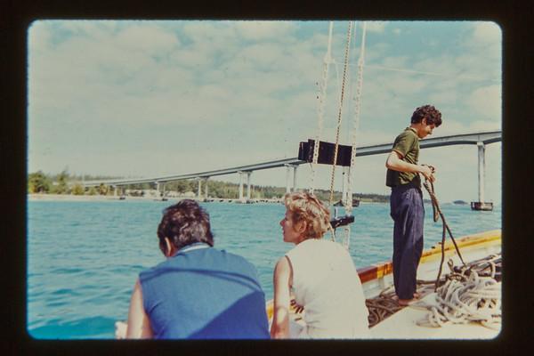 Sondra, Marge and Gordon Woodside