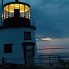 Owl's Head Light House : Sunrise, Owl's Head Light.