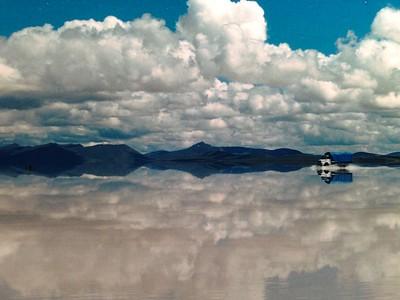 1997 Jan  Salar de Uyuni + Laguna Verde