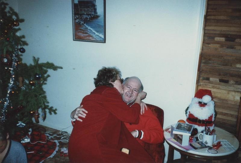 1986 Christmas Bruce & Nancy