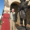 4716- Elder & Sister Woodbury at Mormon Battalion Historic Site