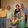 9319- Woodbury, Recksiek grandparents at Lucy and Emma's dance program