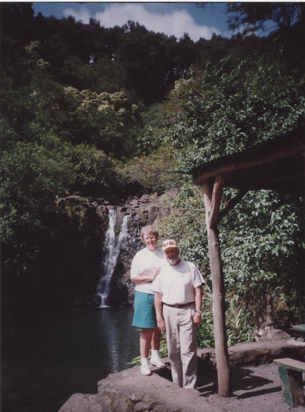 1991 July - Maui- on the drive to Hana