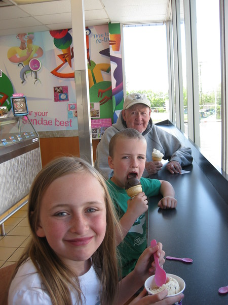 9295- Baskin Robbins ice cream for Jenna and Luke's soccer goals