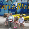 5994-  Turtle Reef- us, Jenna, Luke,  Kira 7-16-11