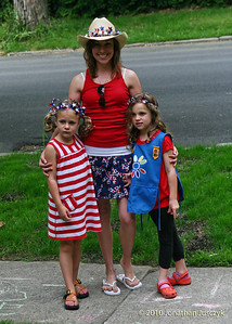 Before the Memorial Day parade.