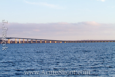 Jamestown Bridge, RI. Plus you can see the water tower, I work across the street!