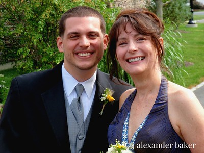 Proud Best Man and Mother of the Groom
